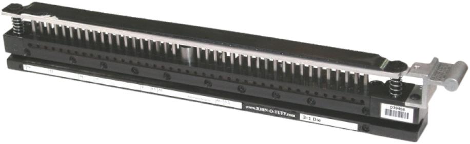 Bloc de perforation interchangeable RHIN-O-TUFF