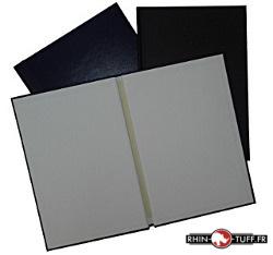 Couvertures préencollées rigides pour création d'albums photos ou bandes dessinées grâce au thermorelieur Onyx 500