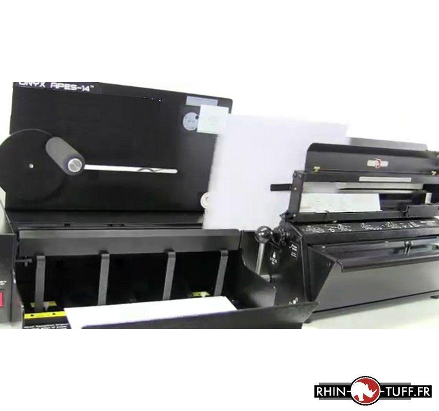 Éjecteur et empileur automatique Onyx APES-14, vue détaillée