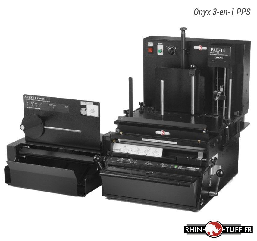 Éjecteur et empileur automatique Onyx APES-14 avec 3-en-1 PPS