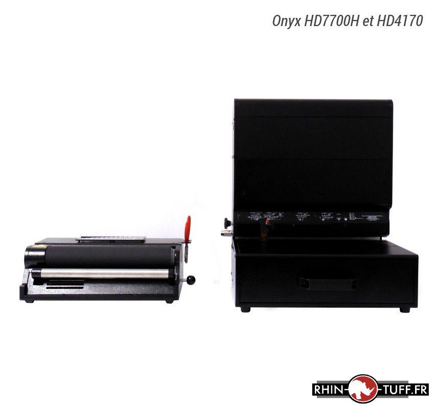 Relieuse électrique Onyx HD4170 avec le perforateur électrique HD7700