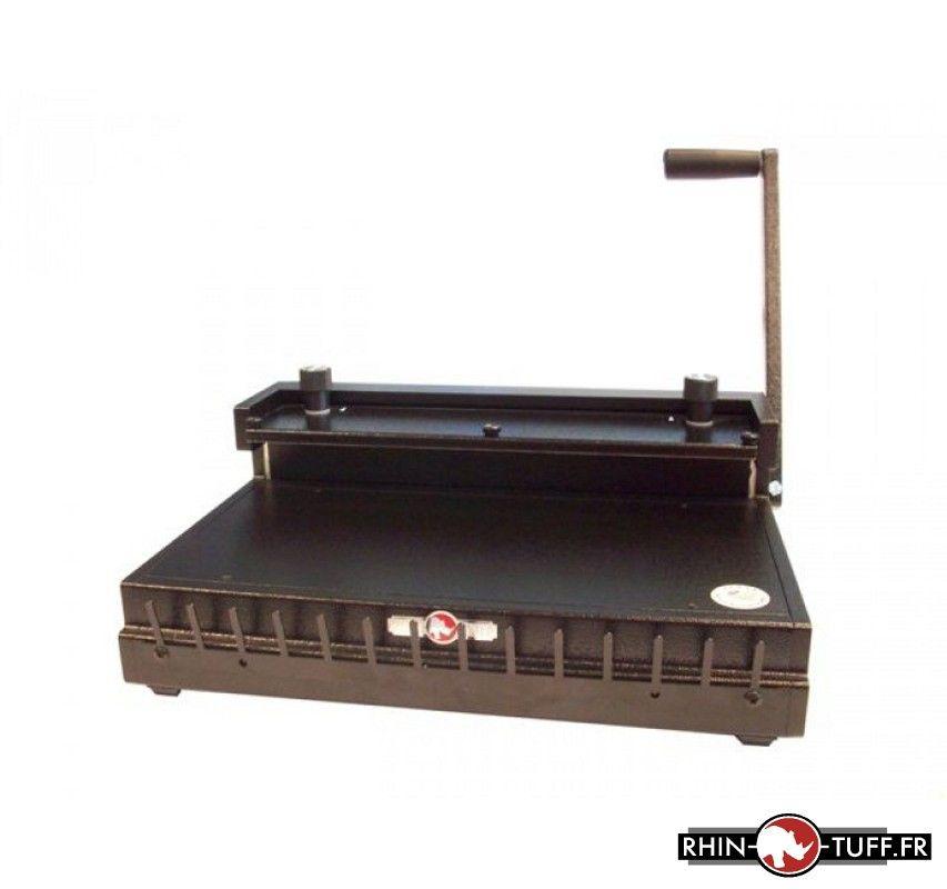 Relieuse Onyx HD8000 pour anneaux métalliques 2:1 et 3:1