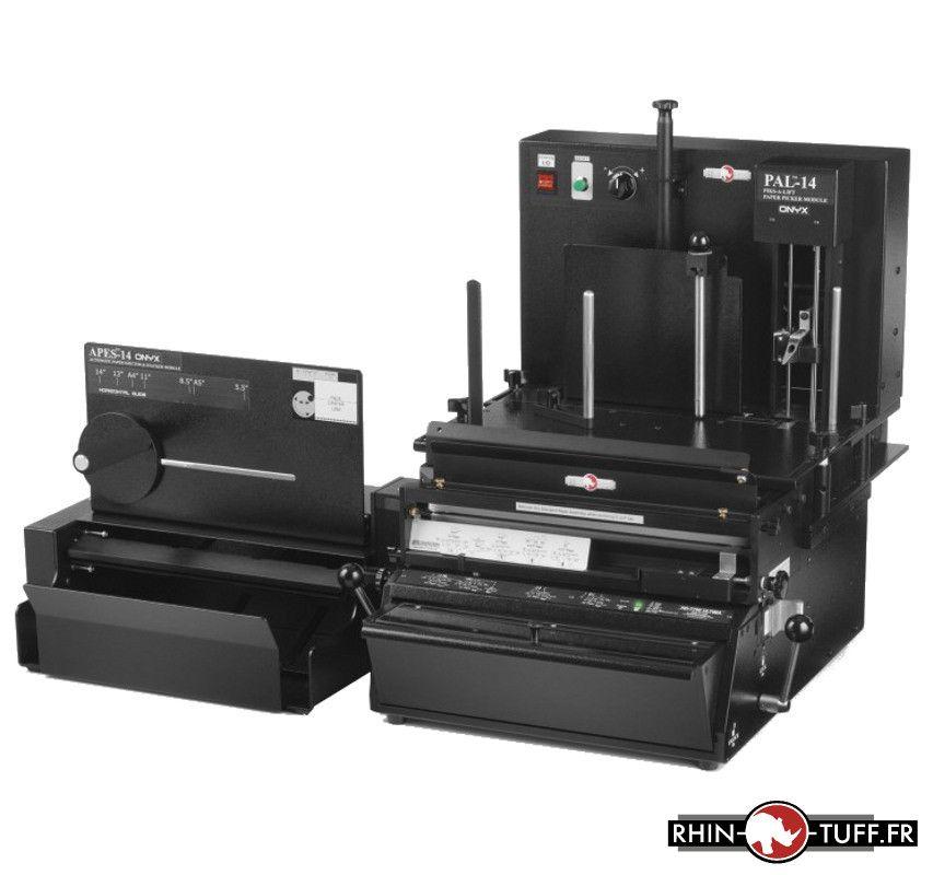 Système d'alimentation papier Onyx PAL-14 en système semi-automatique Onyx 3-en-1 PPS