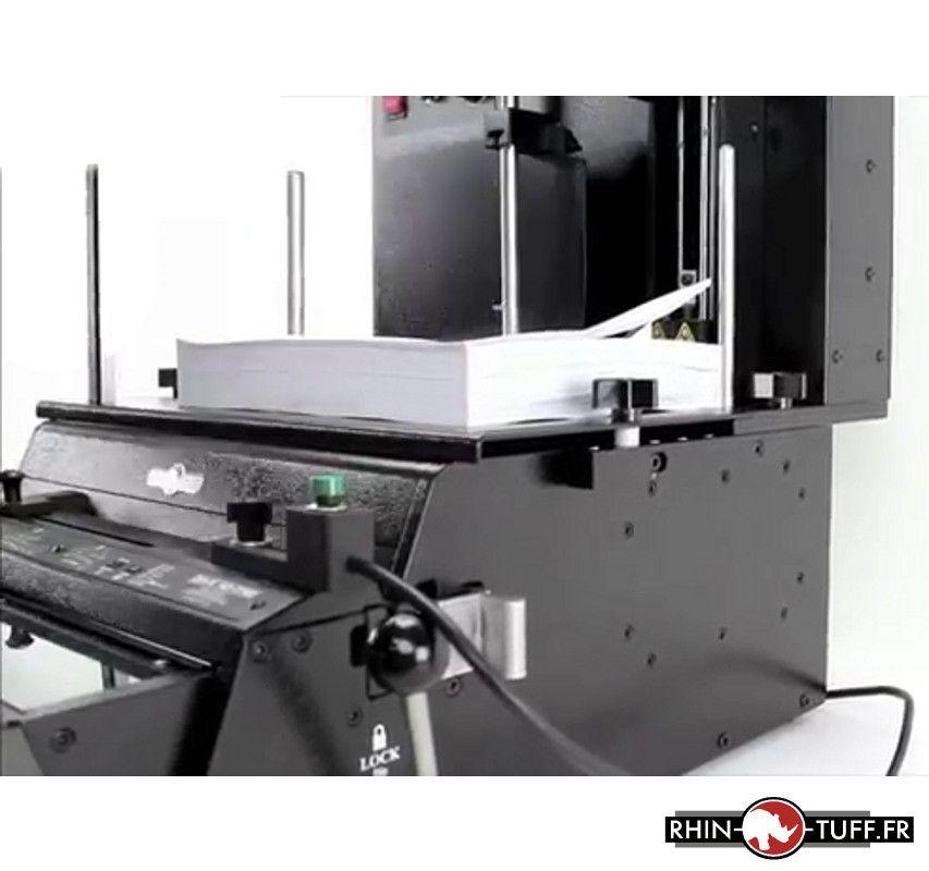 Système d'alimentation papier Onyx PAL-14 - soulèvement des feuilles (de côté)
