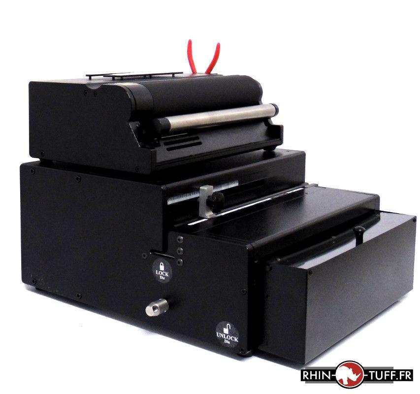 Perforateur électrique Onyx HD7000 avec relieuse électrique Onyx HD4170 pour spirales coils