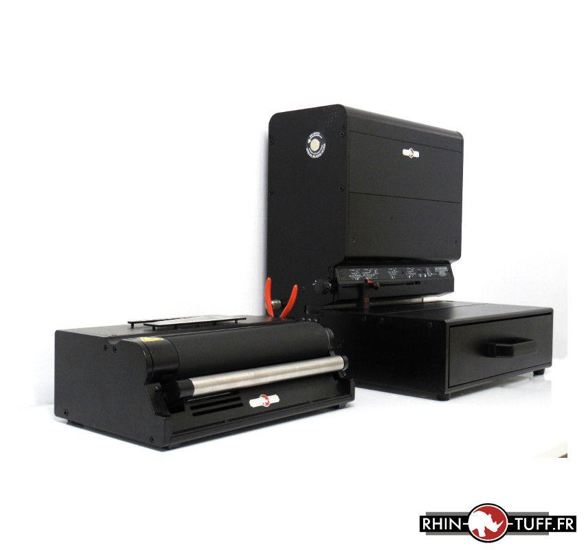 Perforateur électrique Onyx HD7700H et relieuse électrique HD4170 pour spirales coil