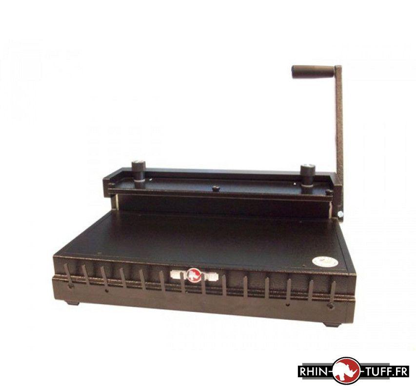 Relieuse manuelle Onyx HD8000 pour anneaux métalliques