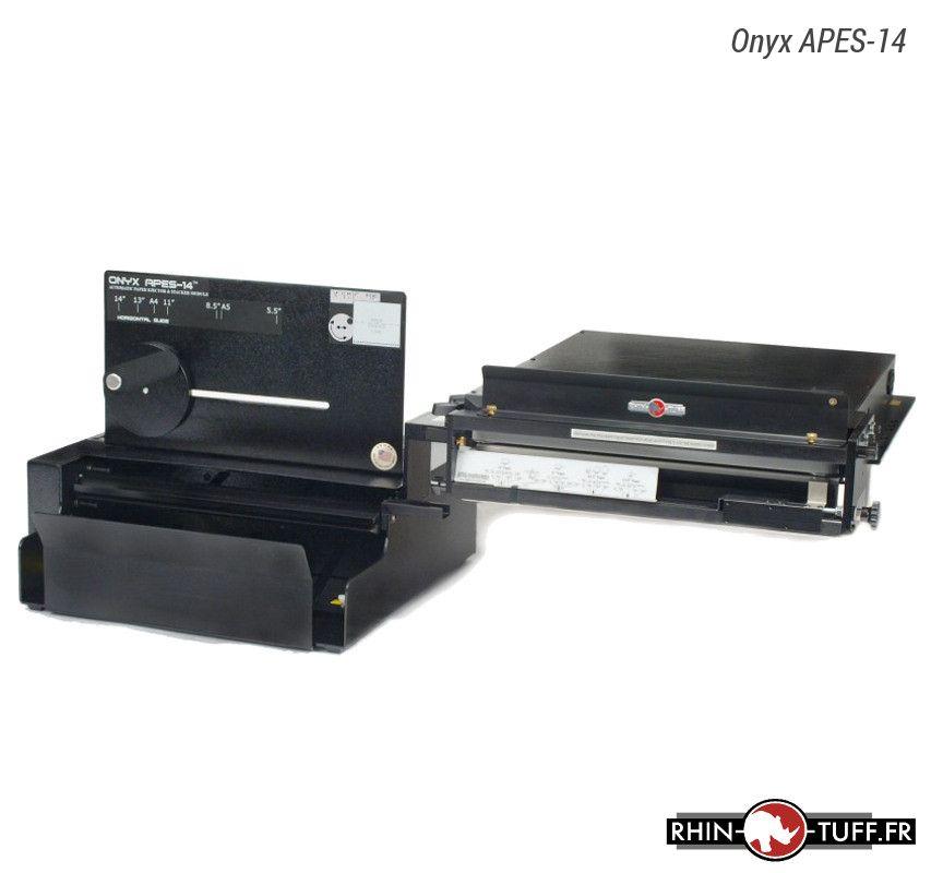 Éjecteur et empileur automatique de papier Onyx APES-14